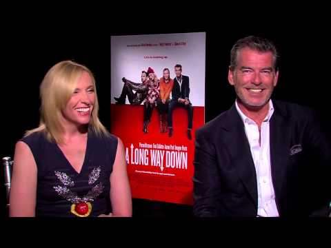 Pierce Brosnan and Toni Collette JoBlo works for them - A Long Way Down (2014)