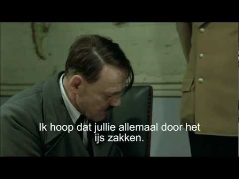 Hitler over de Elfstedentocht 2012.