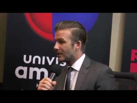 David Beckham Miami Live Open Football Soccer Academy
