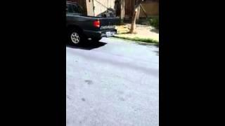 �gua est� descendo a Rua Edson Tom�s dos Santos
