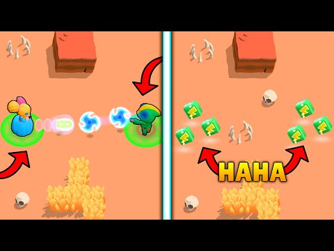 1000 IQ ROBOT vs -10 IQ I Funny Moments & Glitches & Fails | Brawl Stars Montage #10