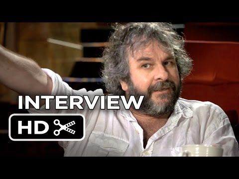 The Hobbit: The Desolation of Smaug INTERVIEW - Peter Jackson (2013) HD