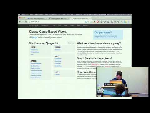 Image from Getting Started with Django, a crash course