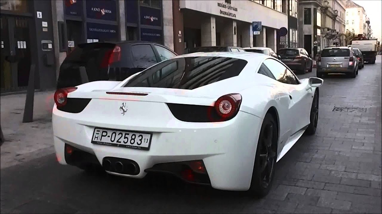 Displaying 14 gt  Images For - White Ferrari 458 Italia Justin Bieber   White Ferrari 458 Italia Justin Bieber