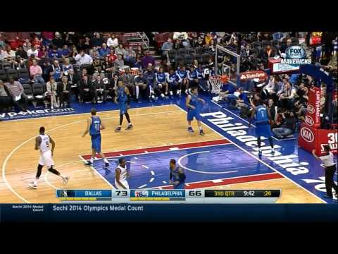 Michael Carter Williams - 25 points, 6 assists vs Mavericks Full Highlights (2014.02.21)
