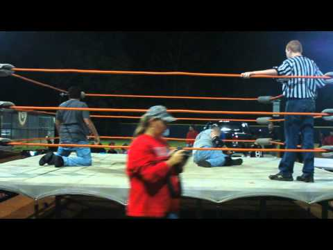 Parking Lot Brawl Match Alex Brock Vs Jason Blackman