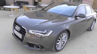 2012 Audi A6 vs. BMW 5 Serisi karşılaştırma - İngilizce