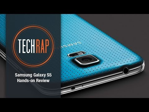 Samsung Galaxy S5 hands-on review (TechRap)