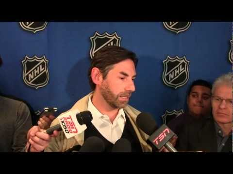 Mathieu Schneider  - 2013 NHL GM Meetings