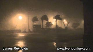 Extreme Fury Of Typhoon Sinlaku In HD!!