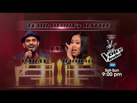 Paras Jetly Vs Baishali Lama   Battle Round   Sneak-Peek   The Voice India S2   Sat-Sun, 9 PM