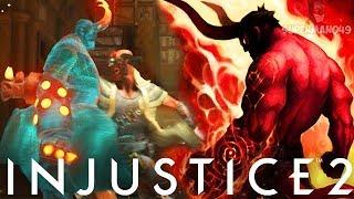 EPIC HELLBOY MASTERS INFINITE ARMOR! - Injustice 2