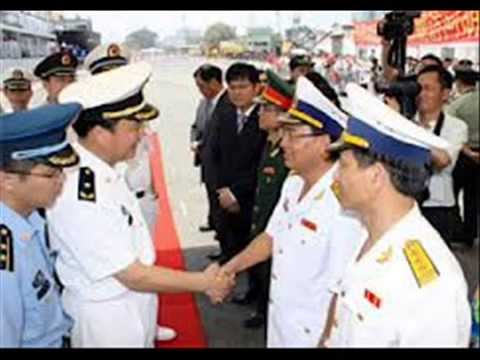 3 chiến hạm TQ bí mật vào cảng Sài Gòn  .wmv
