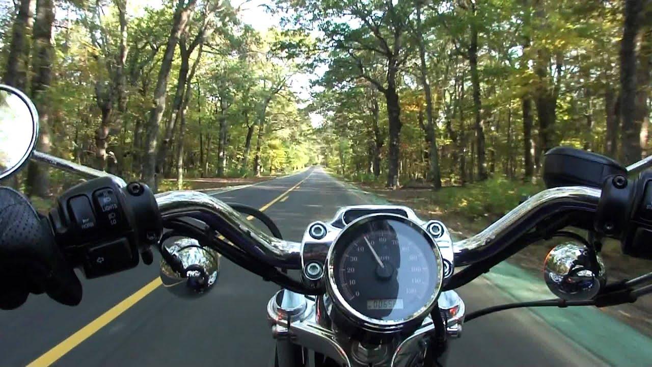 Arie On Harley Davidson Motorcycle Sportster Shenandoah