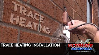 How to install Trace heating