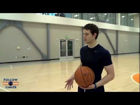 Jimmer's Three-point technique!