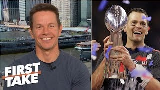 Mark Wahlberg declares Boston center of sports universe | First Take