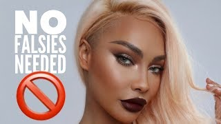 NO FALSIES DATE NIGHT GLAM   SONJDRADELUXE