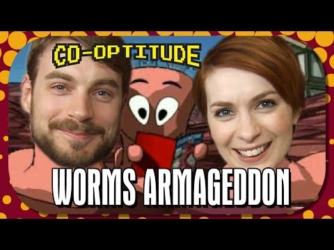 Worms Armageddon - Retro Let's Play: Co-Optitude Ep 25