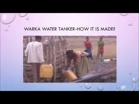 Bamboo Warka Water Towers gives Drinking water from Air