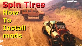 Spin Tires Mods, How To Install Tutorial / Guide, Cars