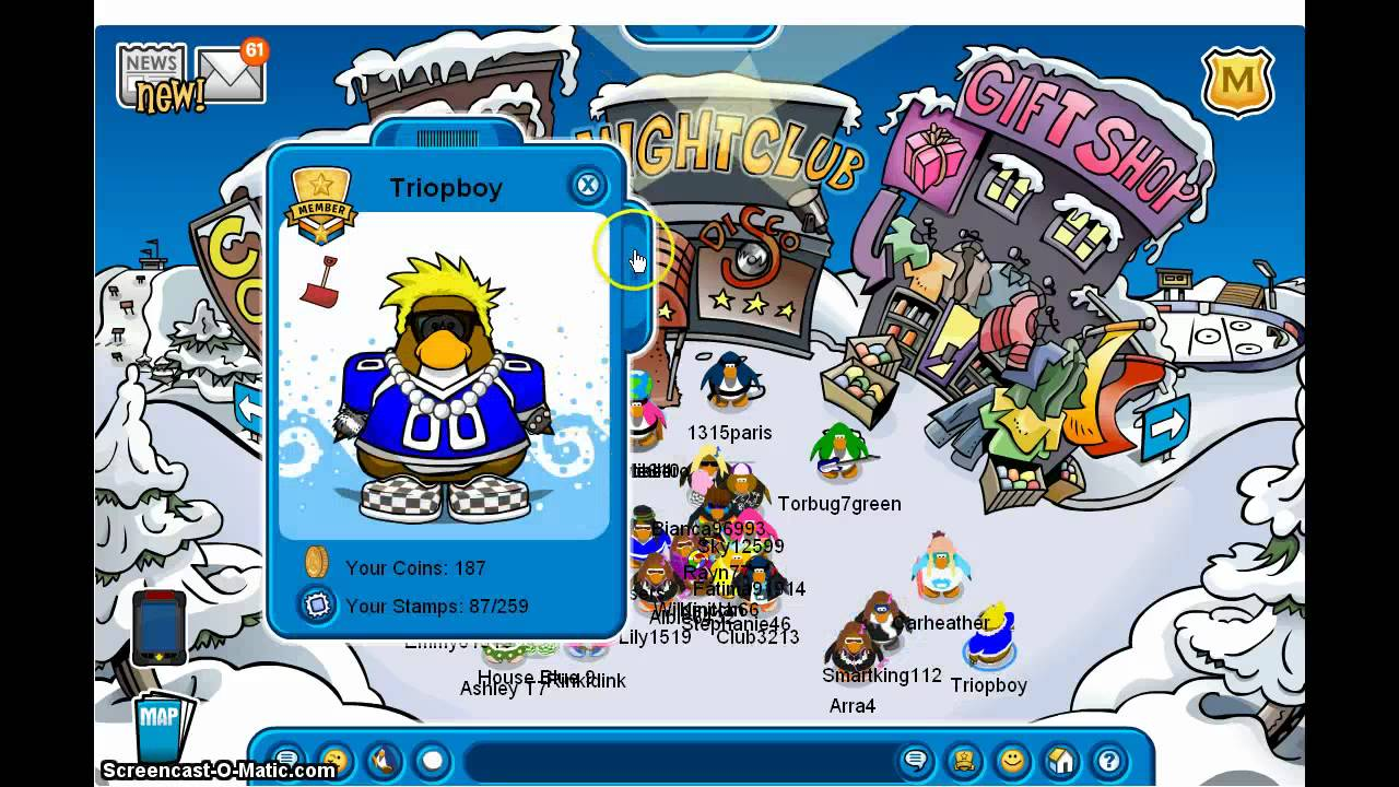 Free club penguin member account and password hd youtube