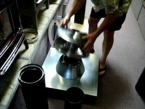 Wood Stove Chimney Installation Basics Video Review 1