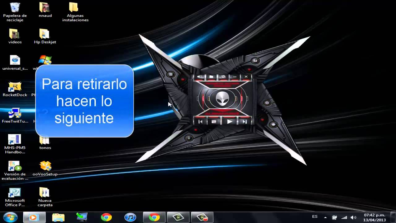 descargar reproductor alienware para windows 7