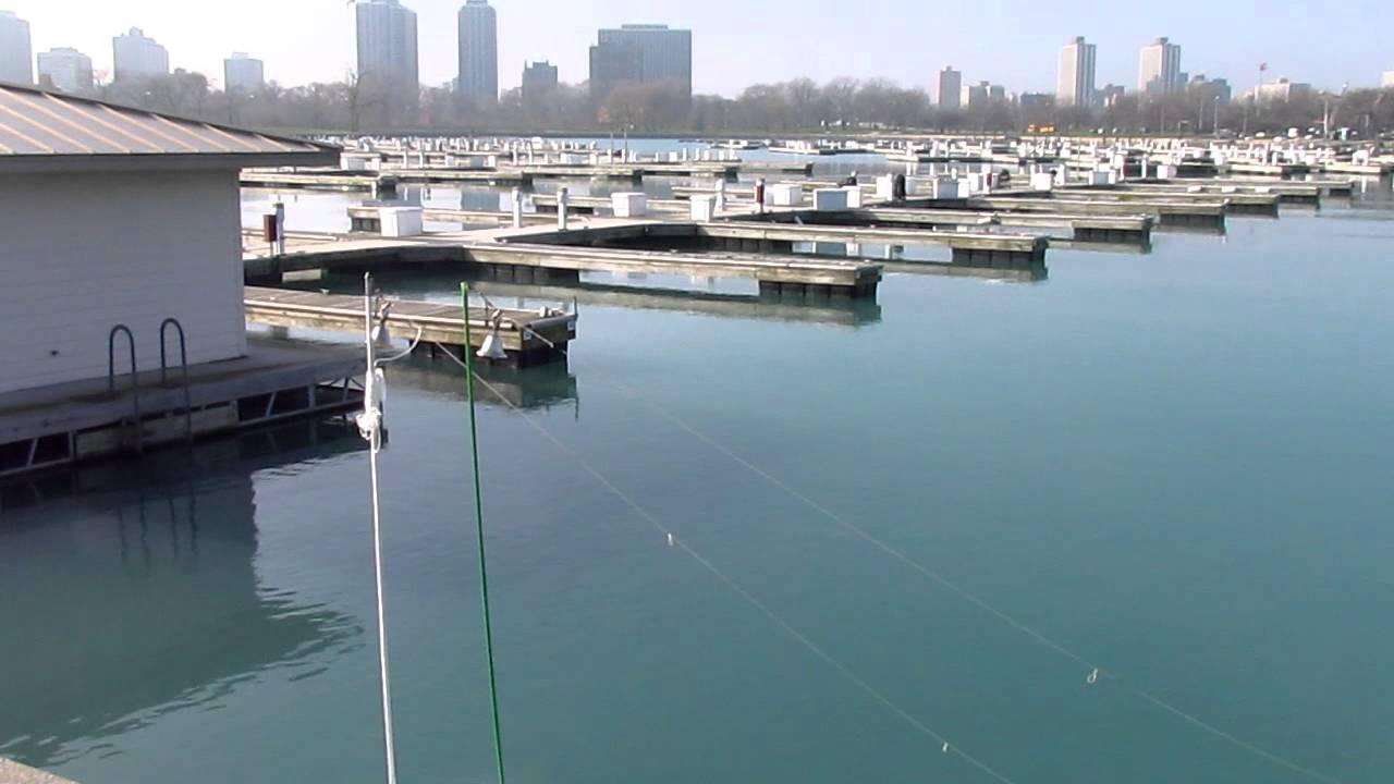 Perch fishing at montrose harbor in chicago lake michigan for Lake erie pier fishing