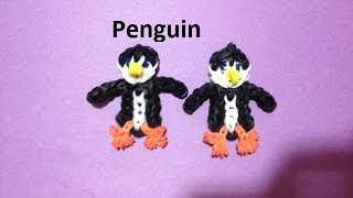 How To Make A Penguin On The Rainbow Loom Original