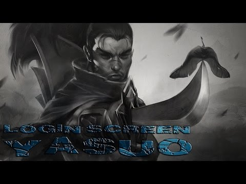 Yasuo Login Screen [ League of Legends PT-BR ]