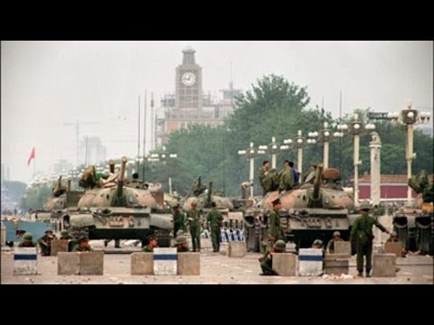 Tiananmen Square Survivor: The Whole Street Was Blood