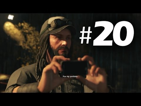 Watch Dogs Part 20 - For the Portfolio - Gameplay Walkthrough PS4