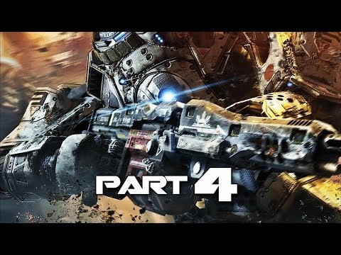 Titanfall Gameplay Walkthrough Part 4 - Get Barker - Campaign Mission 4 (XBOX ONE)