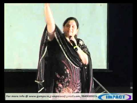SELF MOTIVATION Classy by REVATHI TURAGA at IMPACT 2012