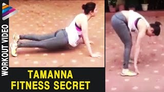Tamanna Fitness Secret - Tamanna Workout Video..