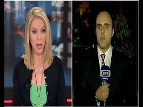 George Efthymiou, Live from Alexandroupoli, Northern Greece, ERT News at 21:00.
