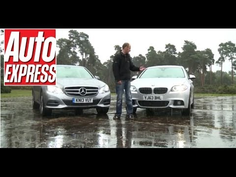 BMW 520d vs Mercedes E220 - Auto Express