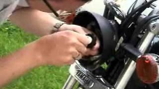 Cambio de luces delanteras de moto
