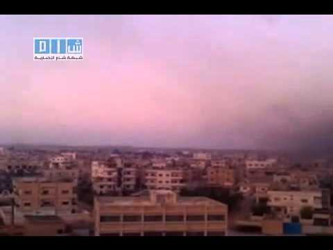 25-04-2011 Dara - Syrian Arab Republic ...... Syrian army enters the city of Dara.(1)