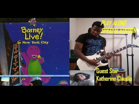 Barney Live In New York City Special Edition/2nd Release Play Along