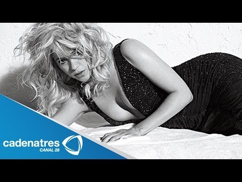 Shakira posa para una revista para caballeros