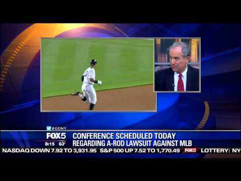 A-Rod lawyer discusses the case against MLB on Fox5 Good Day NY