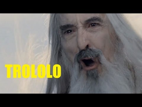 Trolling Saruman