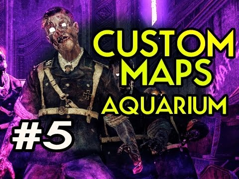 Custom Nazi Zombies Maps: Aquarium w/ Kootra Ep.5 - THE LAST STAND