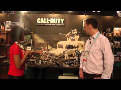 Mega Bloks at Toy Fair 2014: Call of Duty and Assassin's Creed