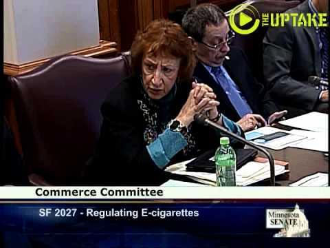 e-cigarettes Forced Outdoors In Senate Bill