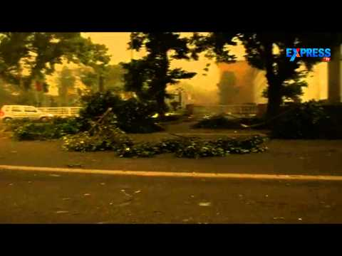 Massive Storm, Rain Lashes Delhi City