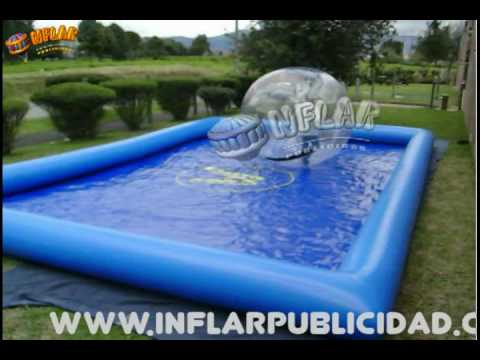 Inflables infantiles de agua sellados walking ball piscina for Fabricantes de piscinas en colombia