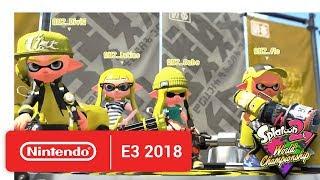 2018 Splatoon 2 World Championships - Semi-Finals - Round 5 - Nintendo E3 2018